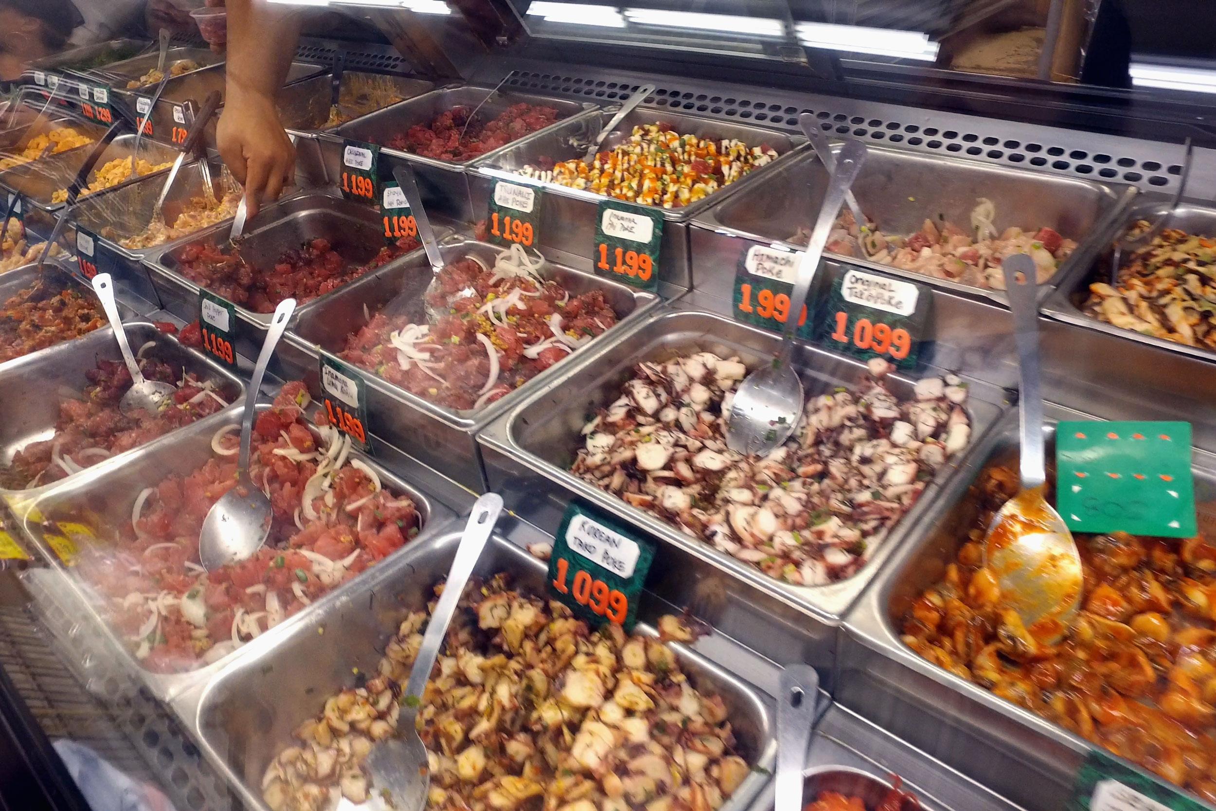 Poke at Ishihara Market