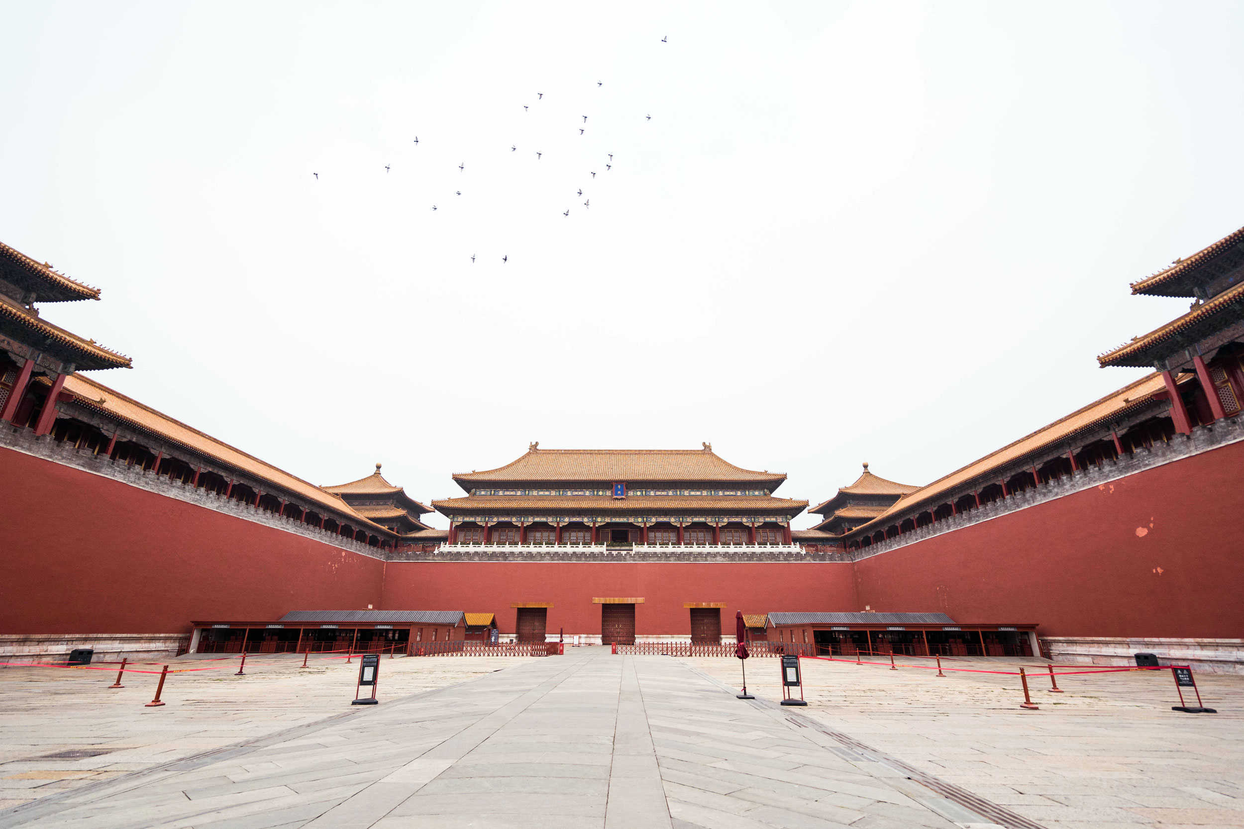 The Forbidden City, known as The Palace Museum