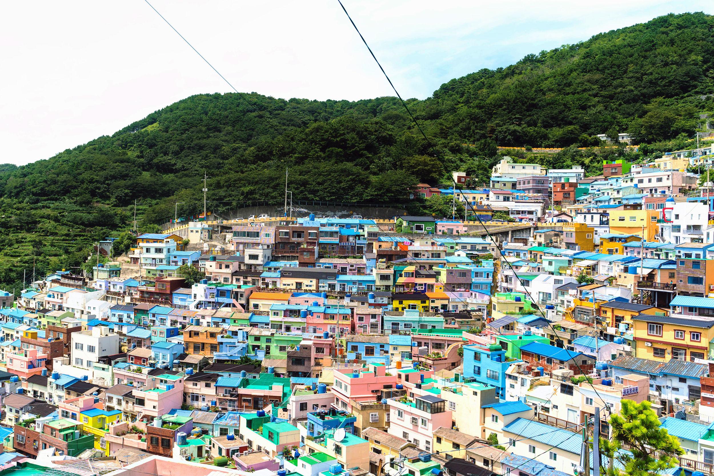 Gamcheon Culture Village in Busan, Korea
