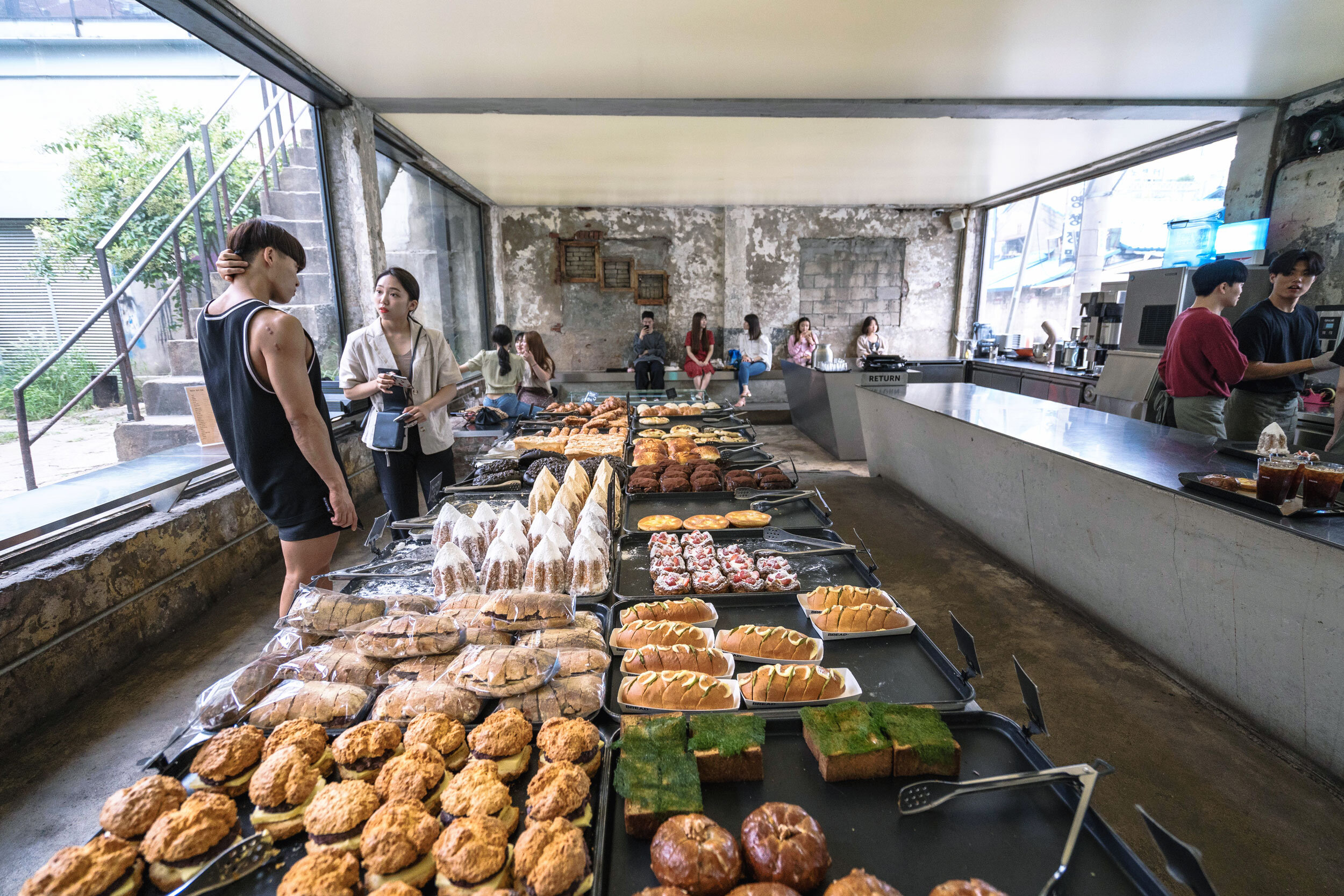 Pastries and baked goods