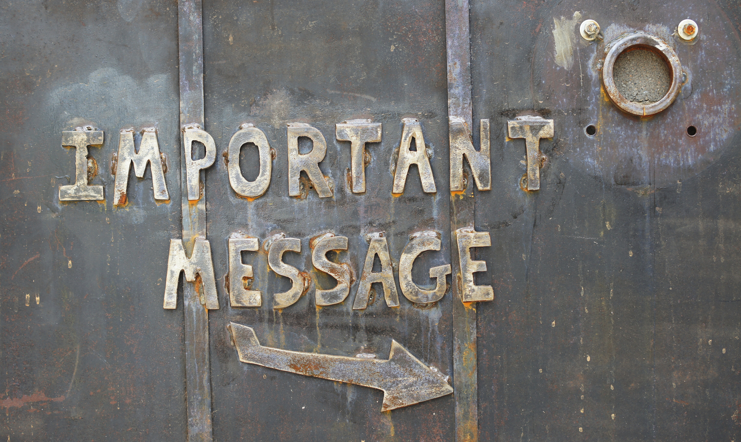 """Important Message"" by Patrick Denker via  Flickr  (   CC BY 2.0  )"