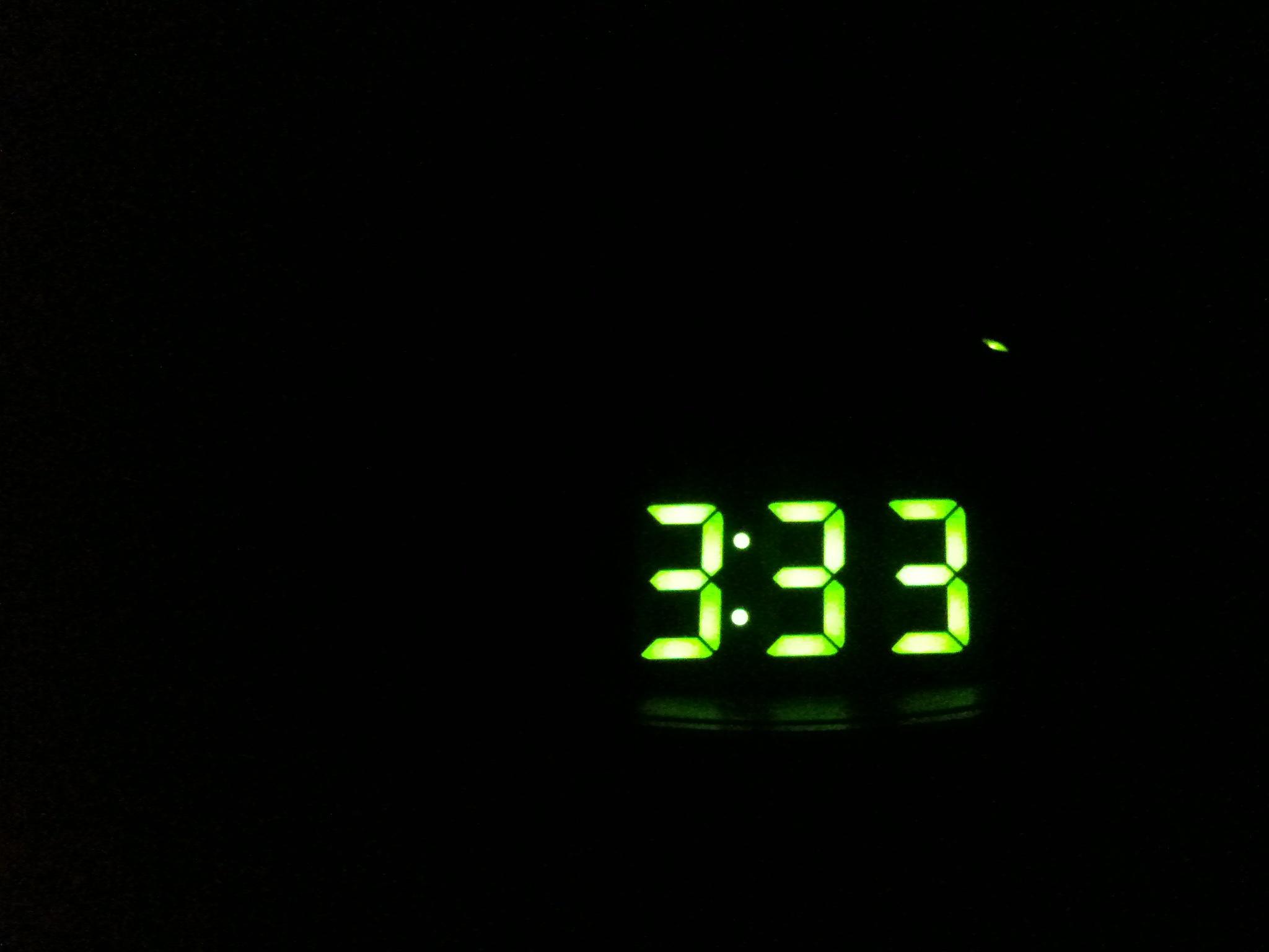 """3:33"" by Michael Galpert via  Flickr  ( CC BY 2.0 )"