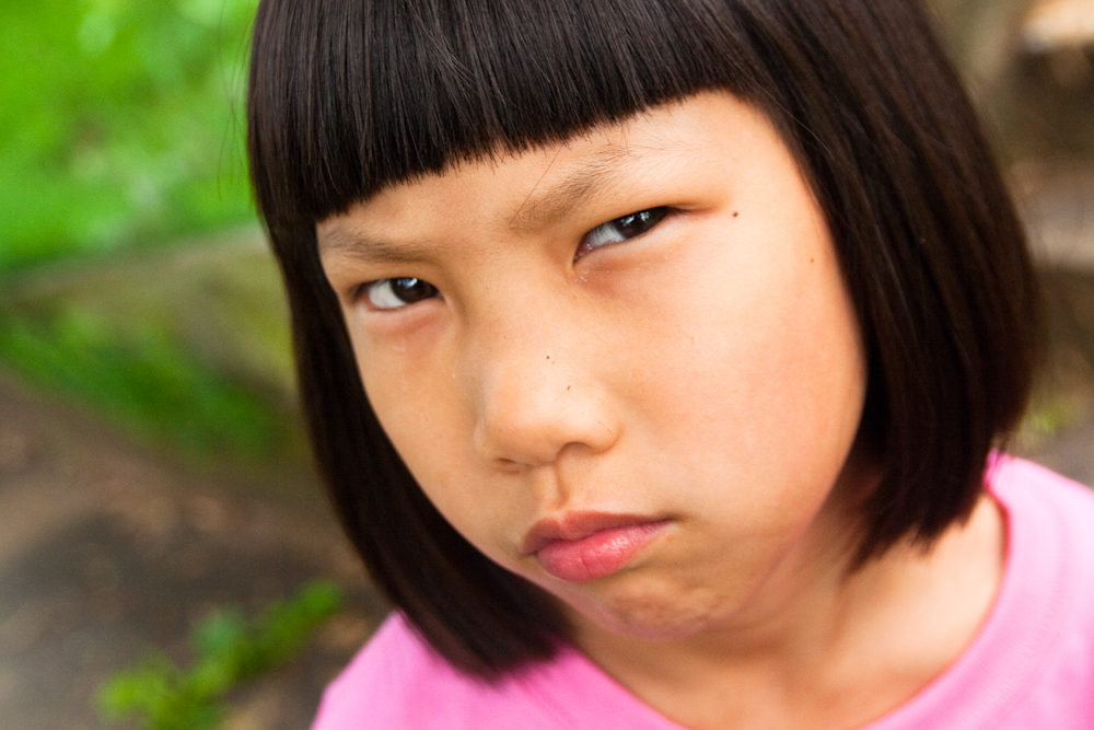 """""""Angry Girl Frown"""" by Steven Depolo via  Flickr   (CC BY 2.0)"""