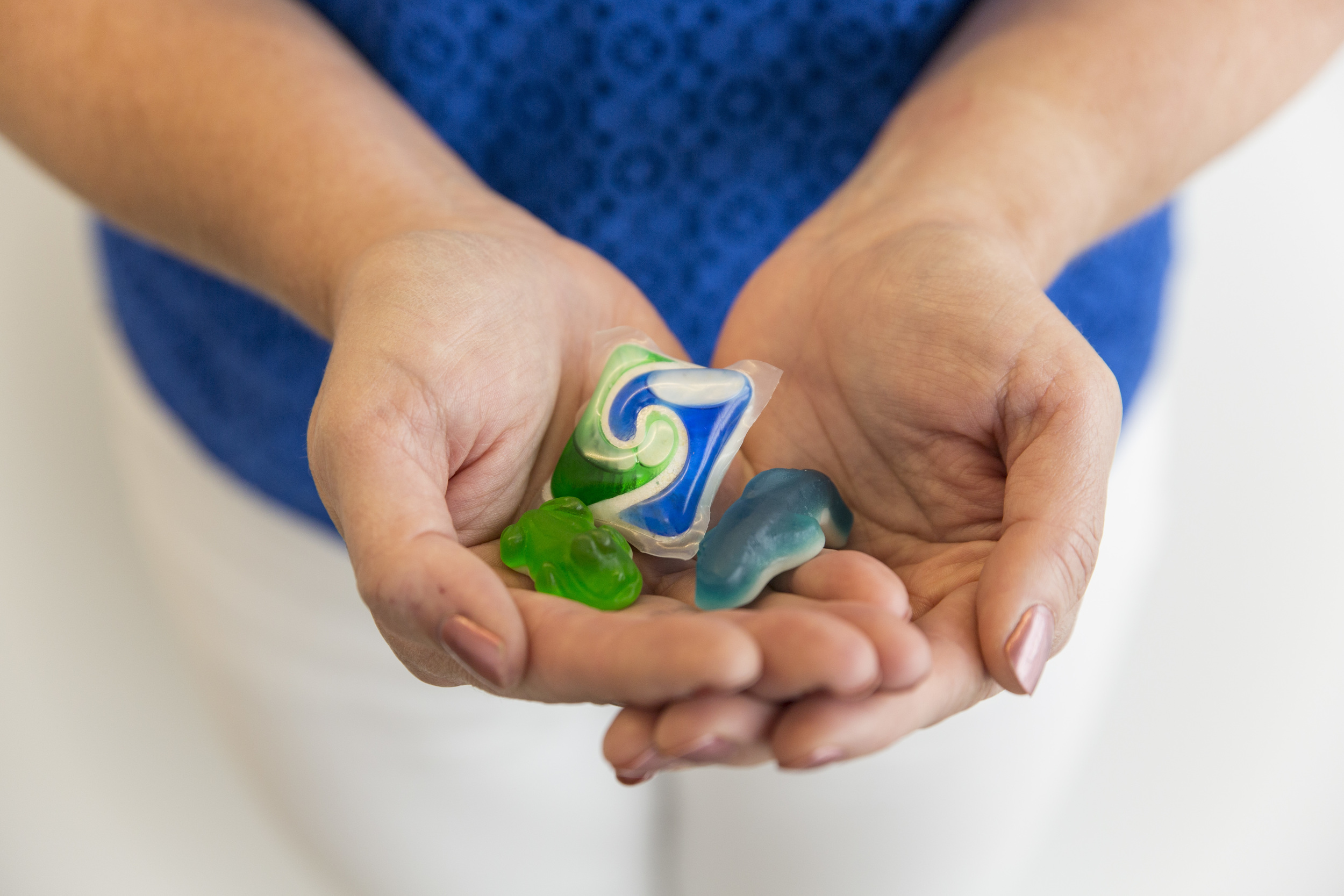 To a child, laundry detergent packets can look just like candy.