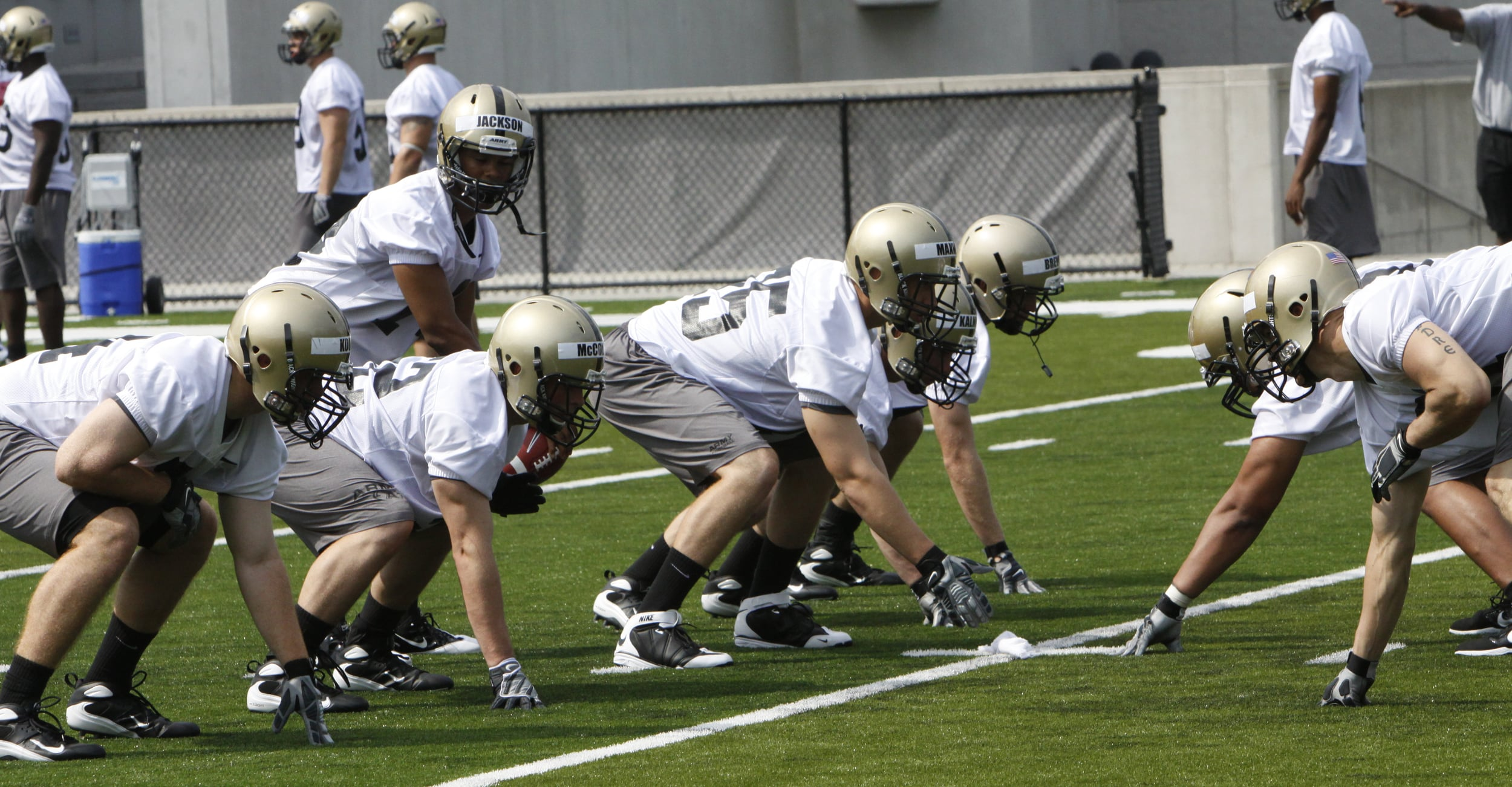 """ Army Football Training Camp "" by  West Point - The U.S. Military Academy   (CC BY 2.0)"