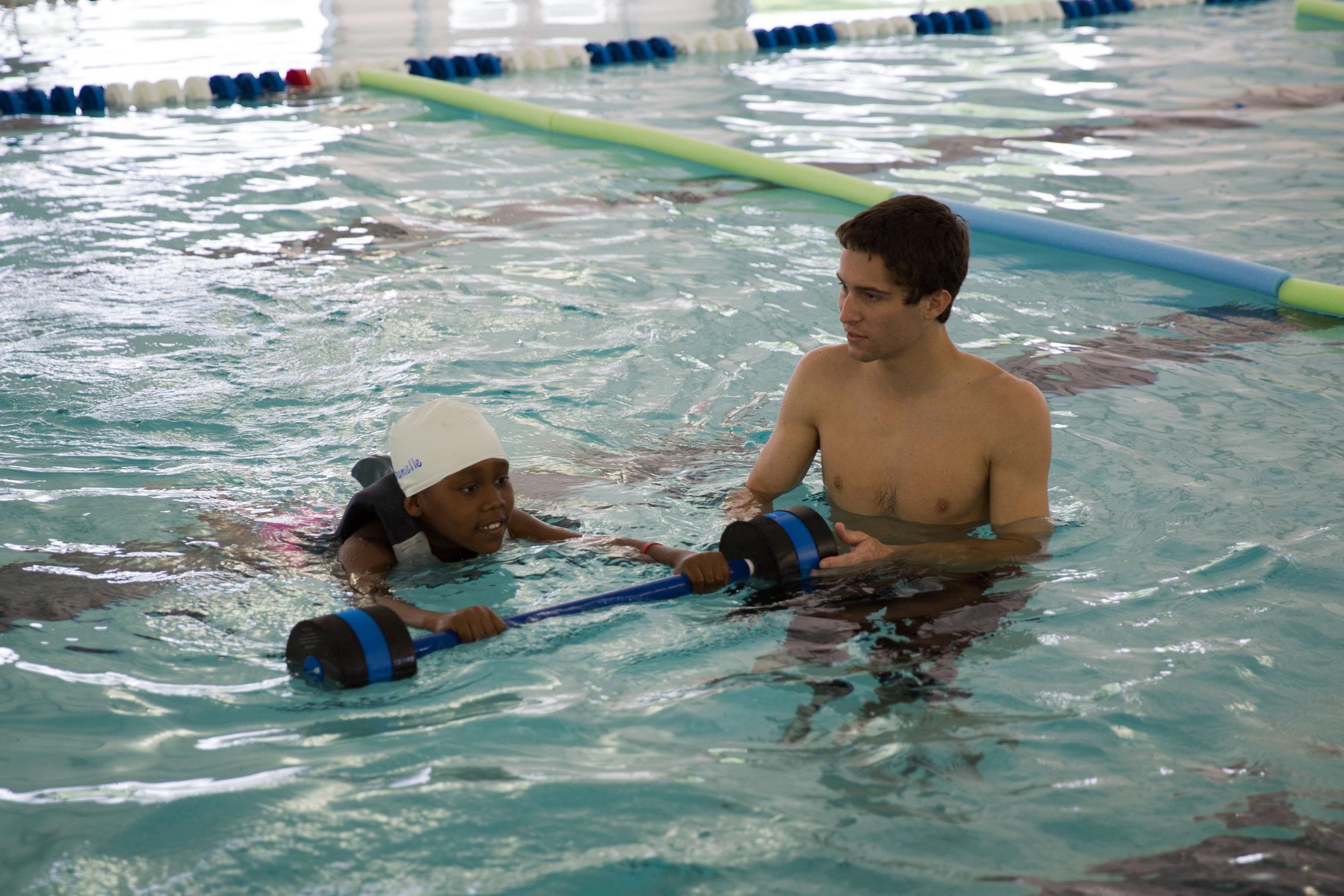""" Learn to Swim "" by  North Charleston  ( CC BY-SA 2.0 )"