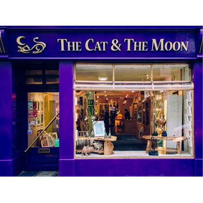 Cat and the Moon Shop