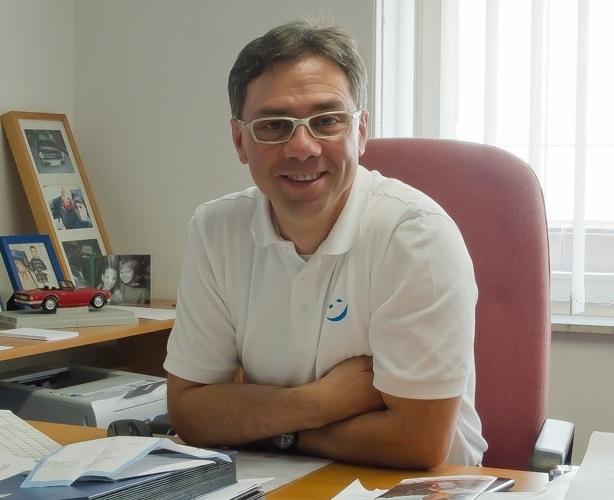 Orthopädietechnikermeister Klaus Raab, Gründer und Inhaber von Sanitätshaus Raab
