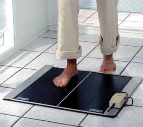 Fußsohlen-Scan