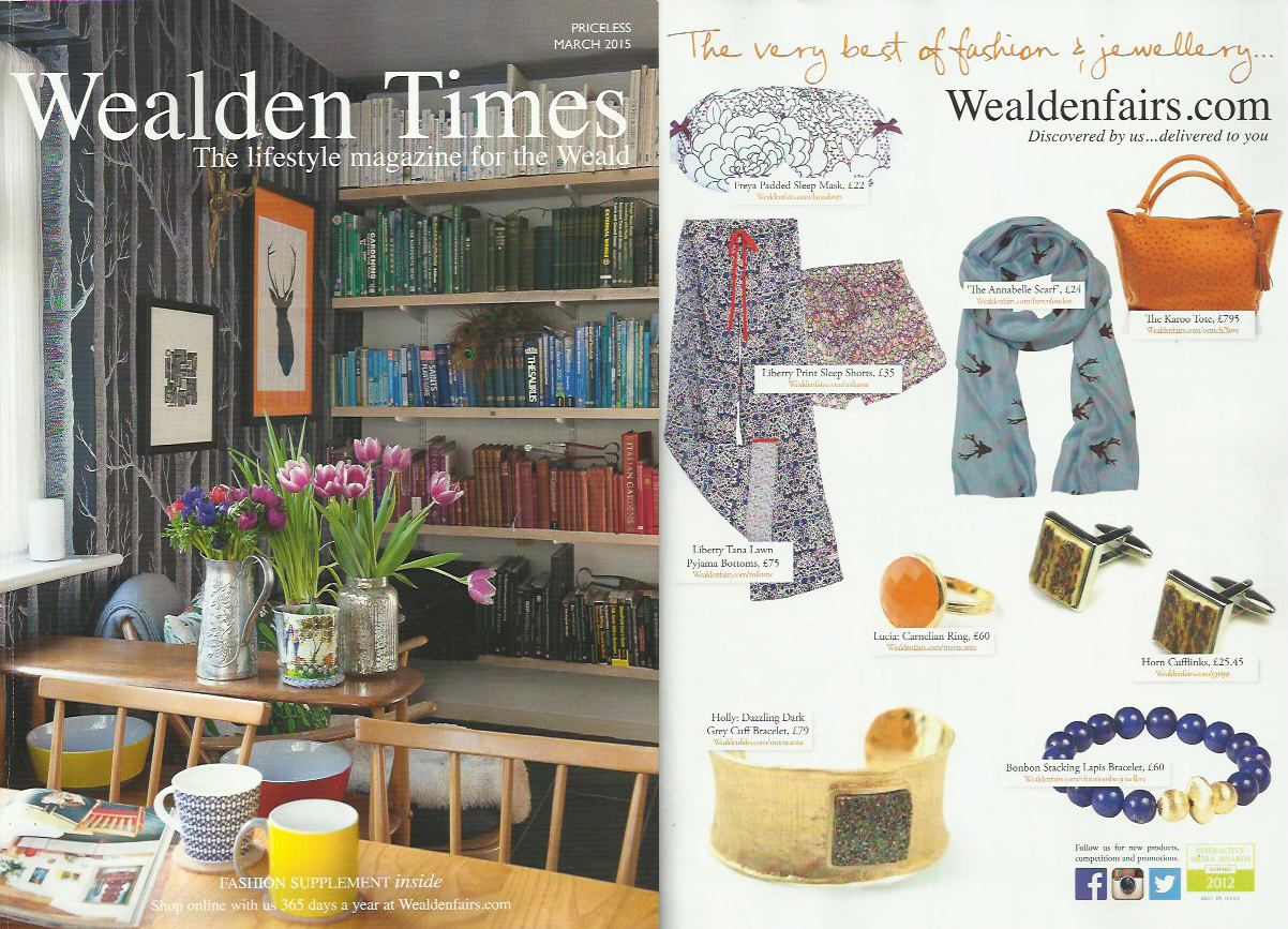 Lauraloves design Features in Wealden Times