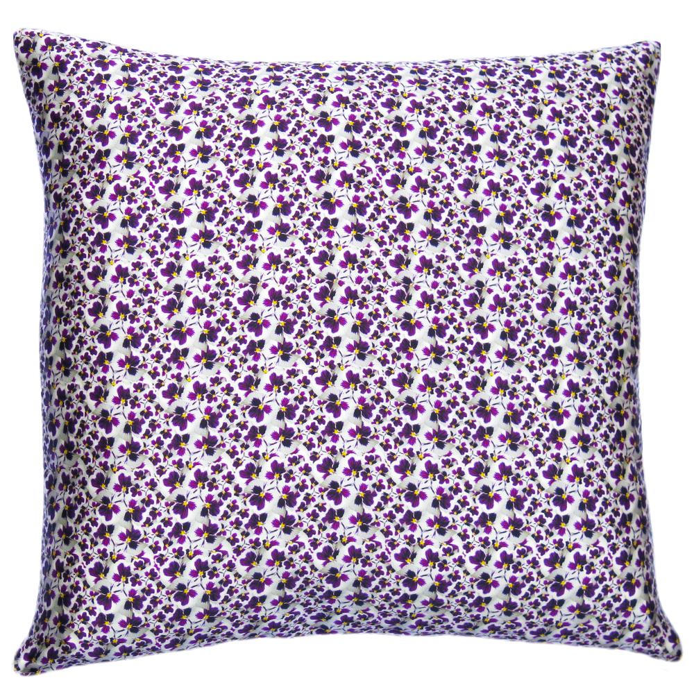 Lauraloves Pansy Dance Cushion