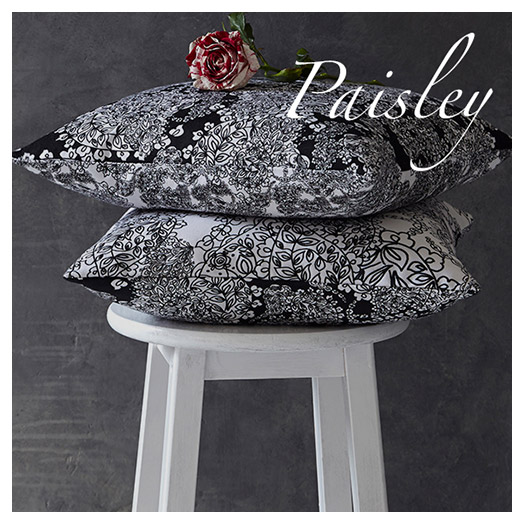 Lauraloves Cushions - Paisley Collection