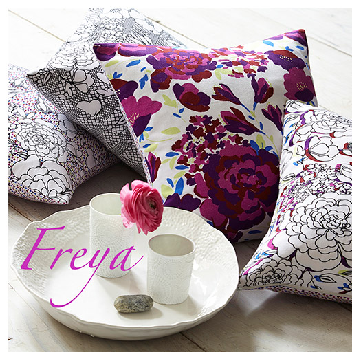 Lauraloves Cushions - Freya Collection