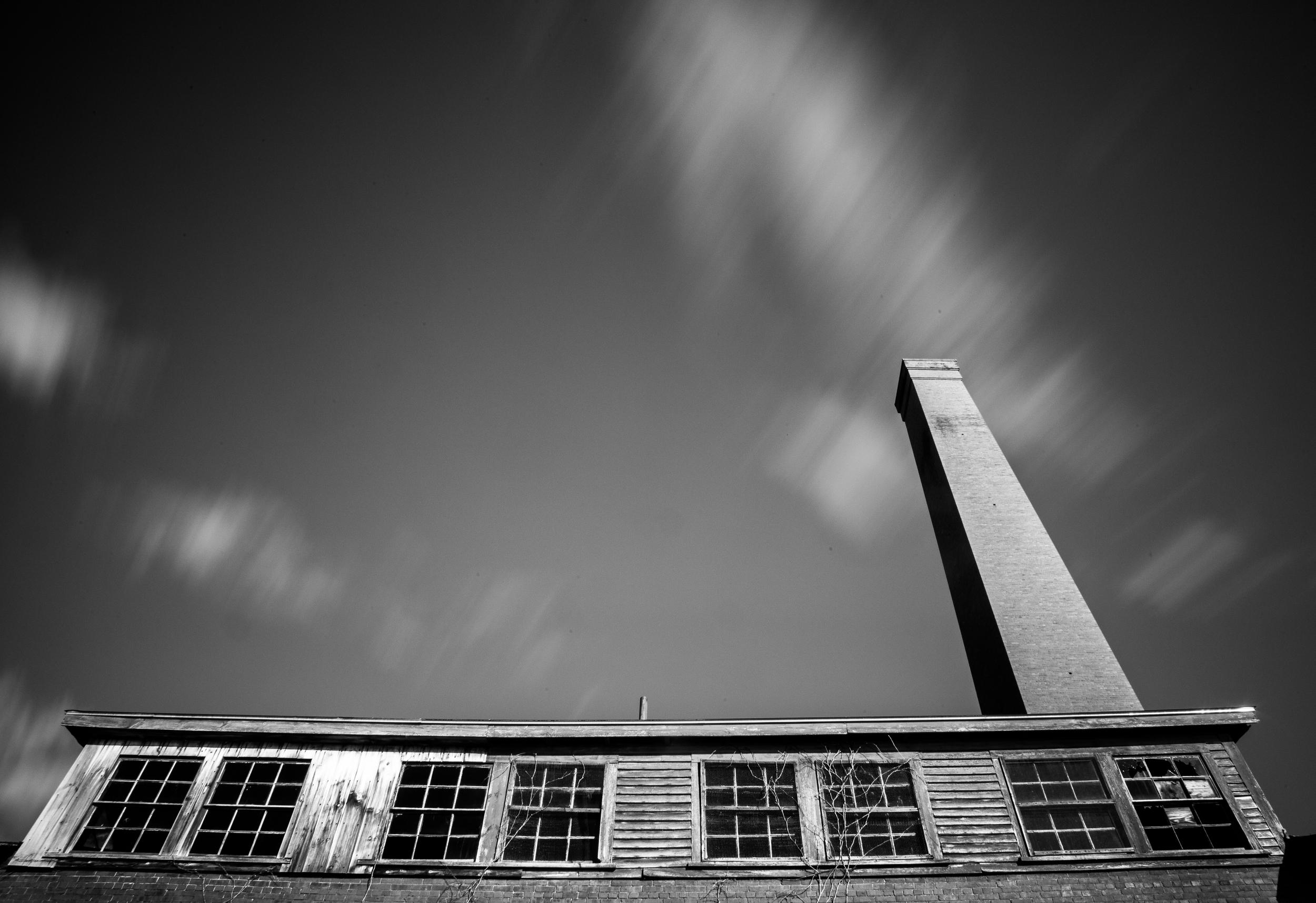 Abandoned Mill: Lewiston, ME