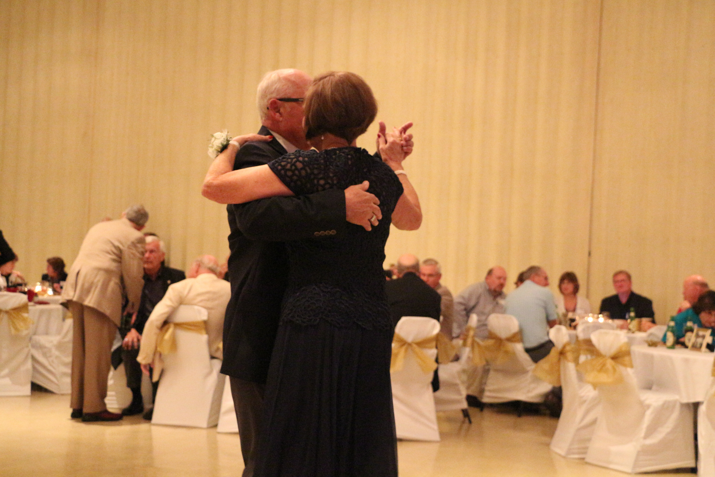 My grandparents (dancing like they love to do) at their 50th wedding anniversary party in August