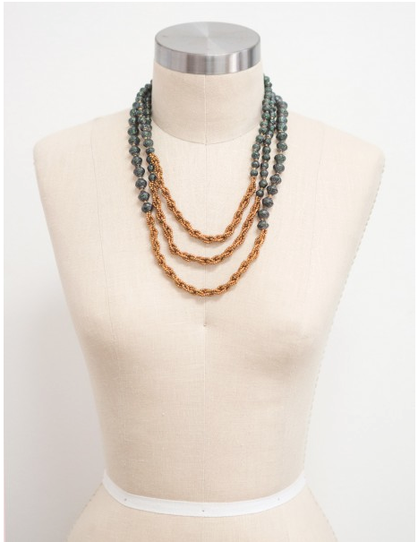 Harlow Shimmer necklace - $58    This necklace  is one of my favorites from the new 31Bits  holiday collection. Their jewelry is made from beads crafted from recycled paper by women in Uganda who are being empowered through their work to rise above poverty. I have several necklaces and a few bracelets from 31Bits and absolutely love them all!