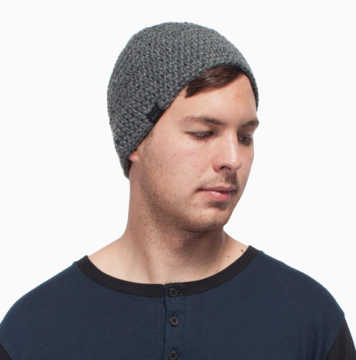 The Donner fitted beanie- $24.95    This beanie  from  Krochet Kids intl.  would look awesome on any guy. They are handmade in Uganda through a sustainable model of empowerment and employment, and each item you purchase comes with a handwritten note from the woman who made it. Their campaign  #knowwhomadeit  is awesome and makes it all so personal and real. Love that.