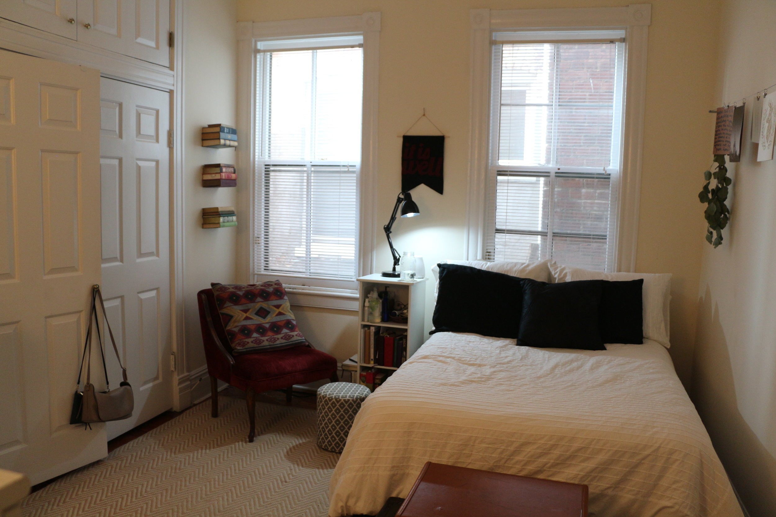 My bedroom from the door!