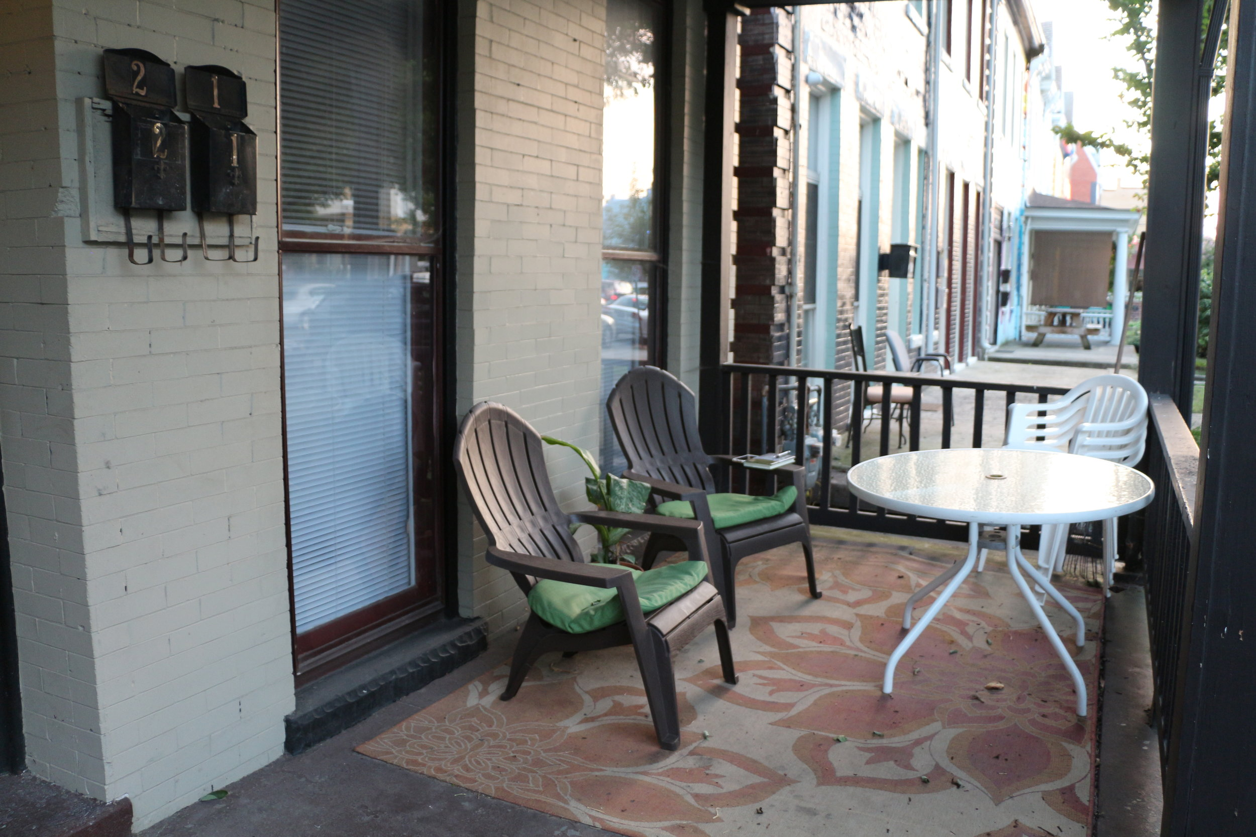 Our front porch!
