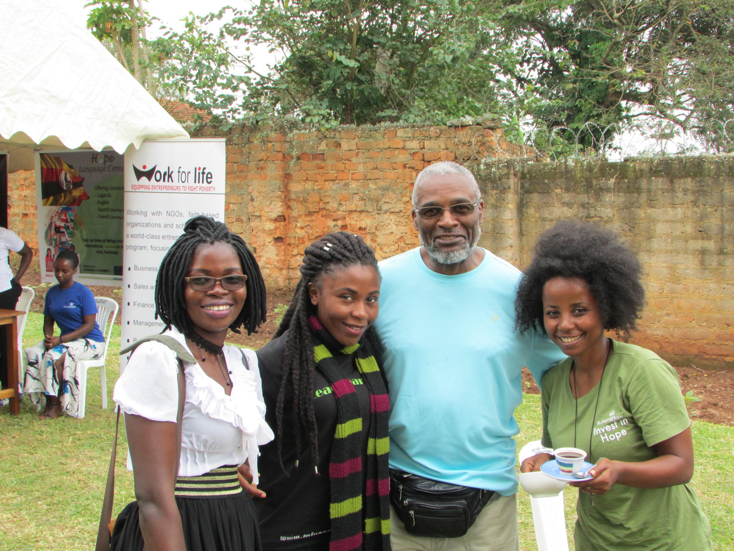 Julius with Victoria Barbaranna and Iesha 2.JPG