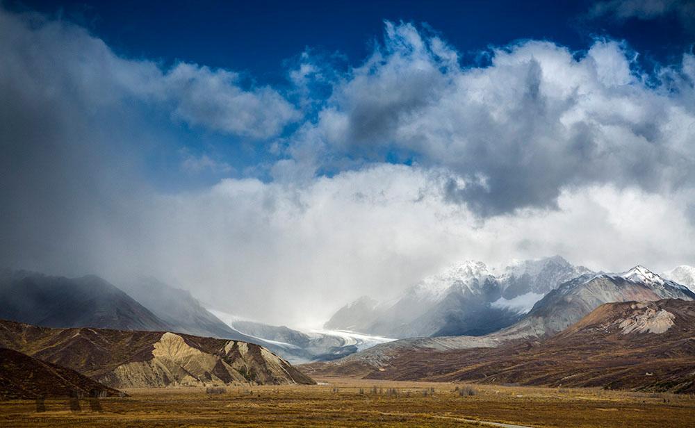 Gulkana Glacier in Early Autumn, 2016