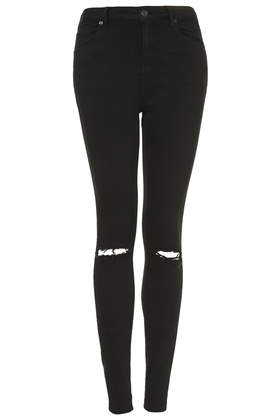 MOTO Black Ripped Jeans - TOPSHOP