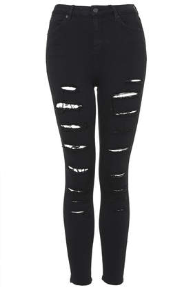 MOTO Super Ripped Jeans - TOPSHOP
