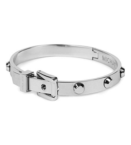 MICHAEL KORS JEWELLERY     Astor Buckle Bangle Bracelet