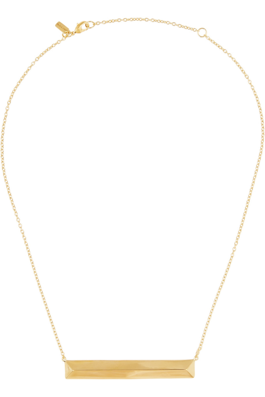 Elizabeth and James Metropolis gold-tone necklace