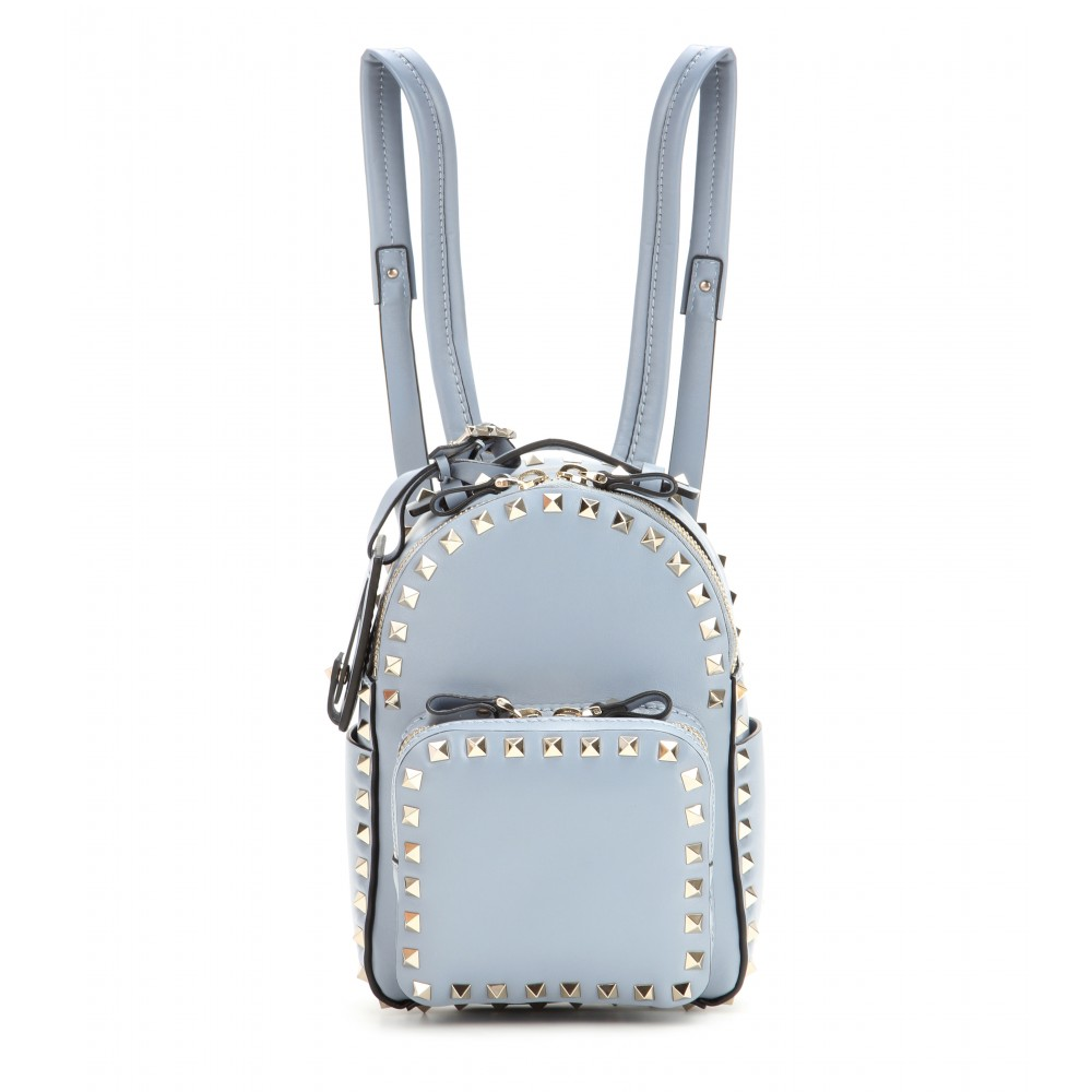 VALENTINO Mini Rockstud Leather Backpack