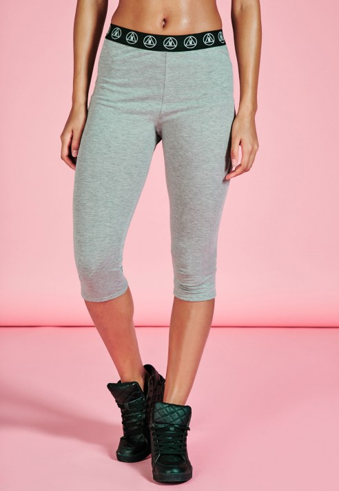 MISSGUIDED Activewear Grey Leggings