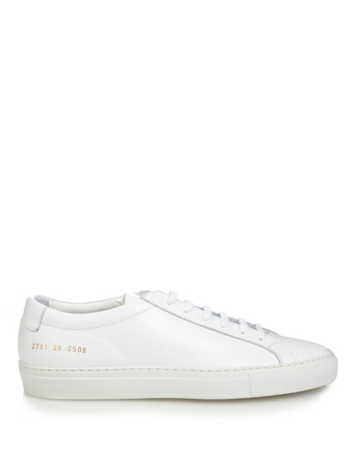 COMMON PROJECTS Achilles original leather low-top trainers