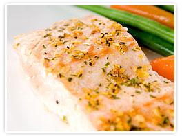 Spicy Green Tea-Rubbed Salmon