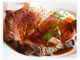 Blood Orange  Smoked Beef Rib Roast