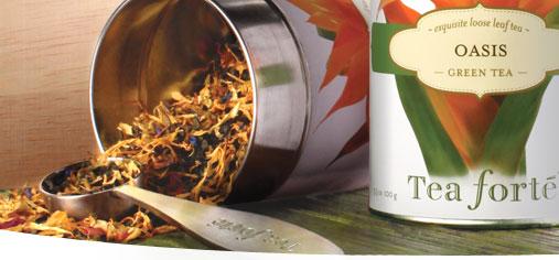 Tea Forte Health Benefits, Green Tea, Organic Tea, Fair Trade