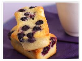 Blueberry Black Currant Tea Cake