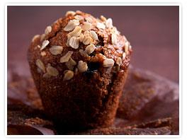 Bombay Chai Oatmeal Muffins