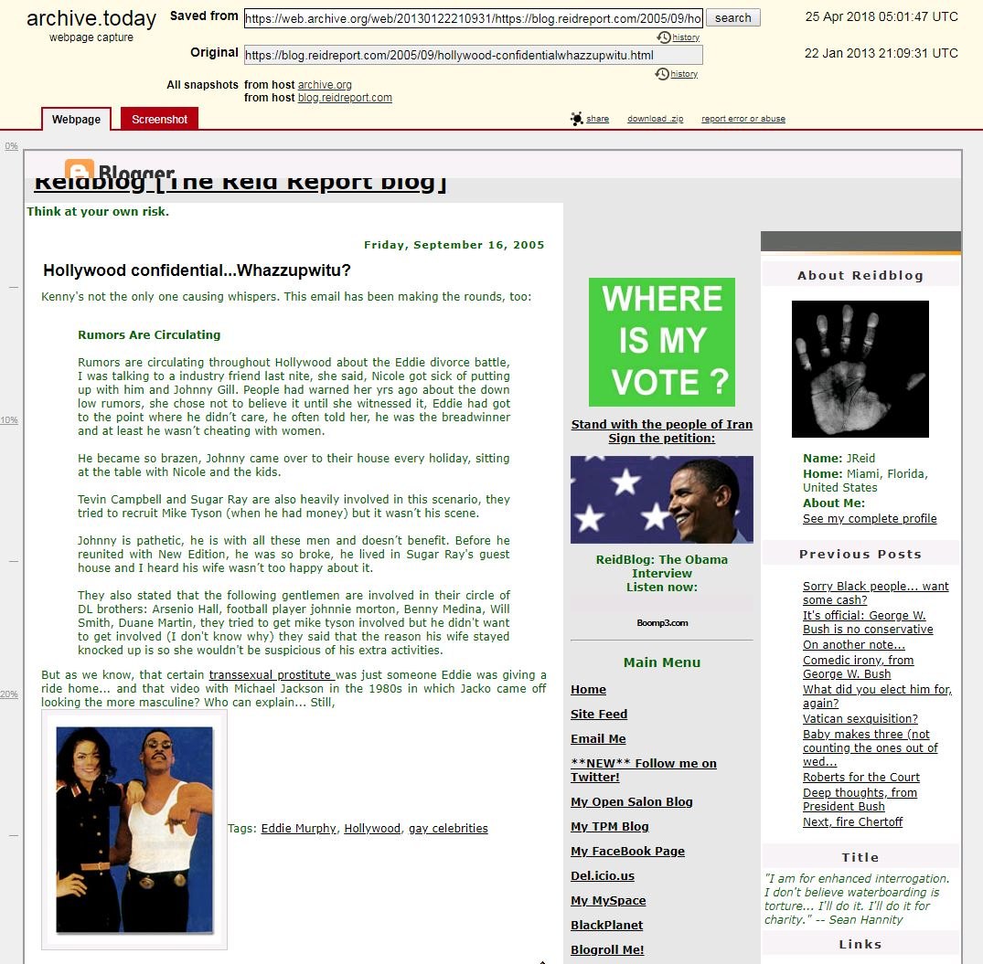 The same link now unavailable on Wayback Machine, as saved by archive.today