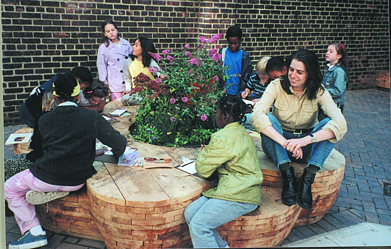 Reading Garden at PS 166 NY
