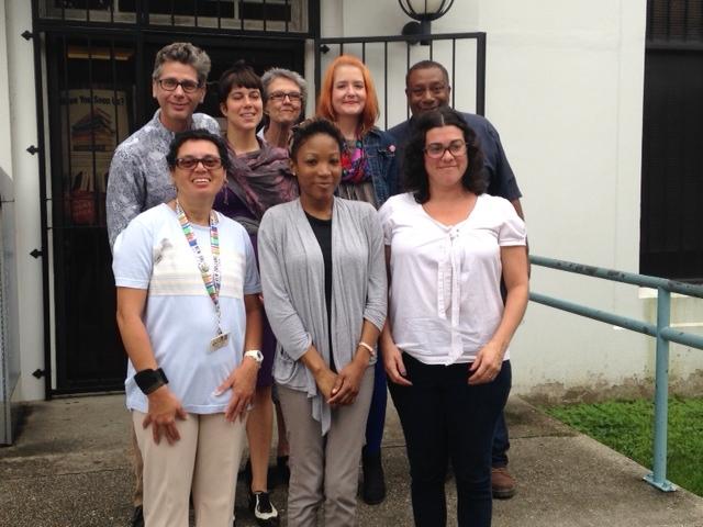 Alvar Public Library staff