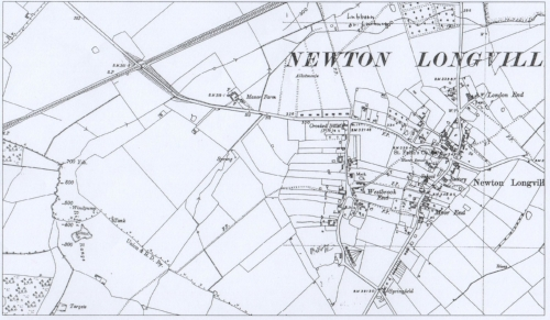 cropped - old map of manor farm - possibly 1926 OS 001.jpg