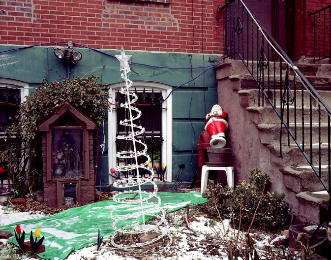 Christmas Yard, Brooklyn, NY, 2004