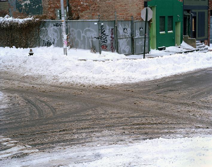Snow Divination, Brooklyn, NY,  2002