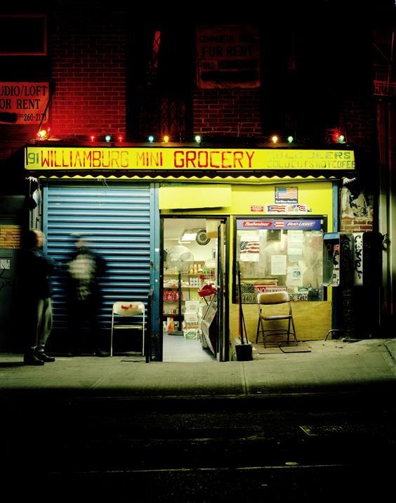 South 6th Bodega, Brooklyn, NY,   2002