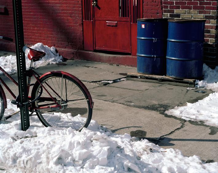 Spring Bicycle, Brooklyn, NY, 2002