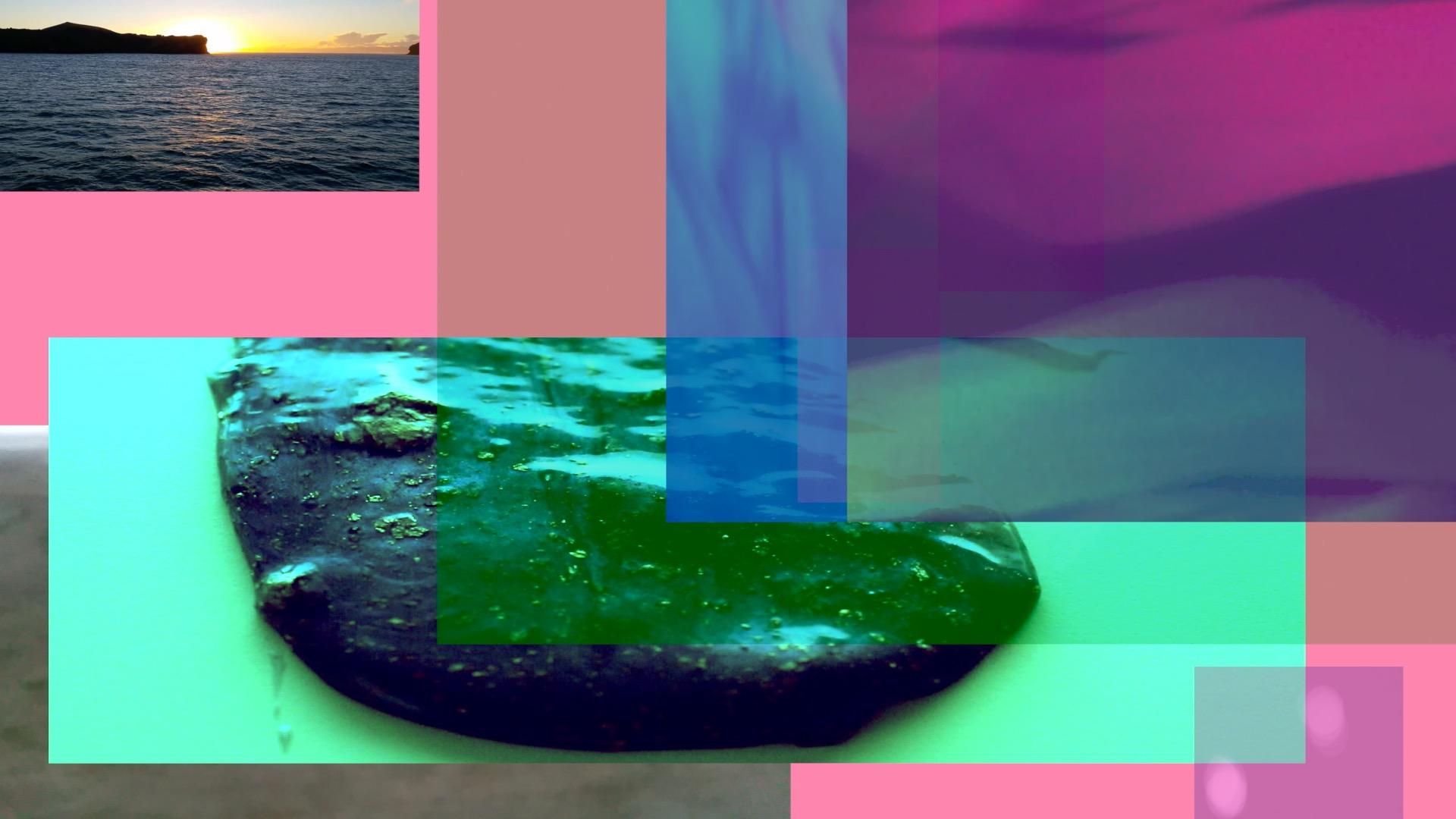 Aimee Odum, Daydream , Still from Video Installation