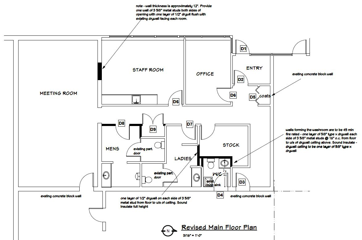 Floorplan Changes