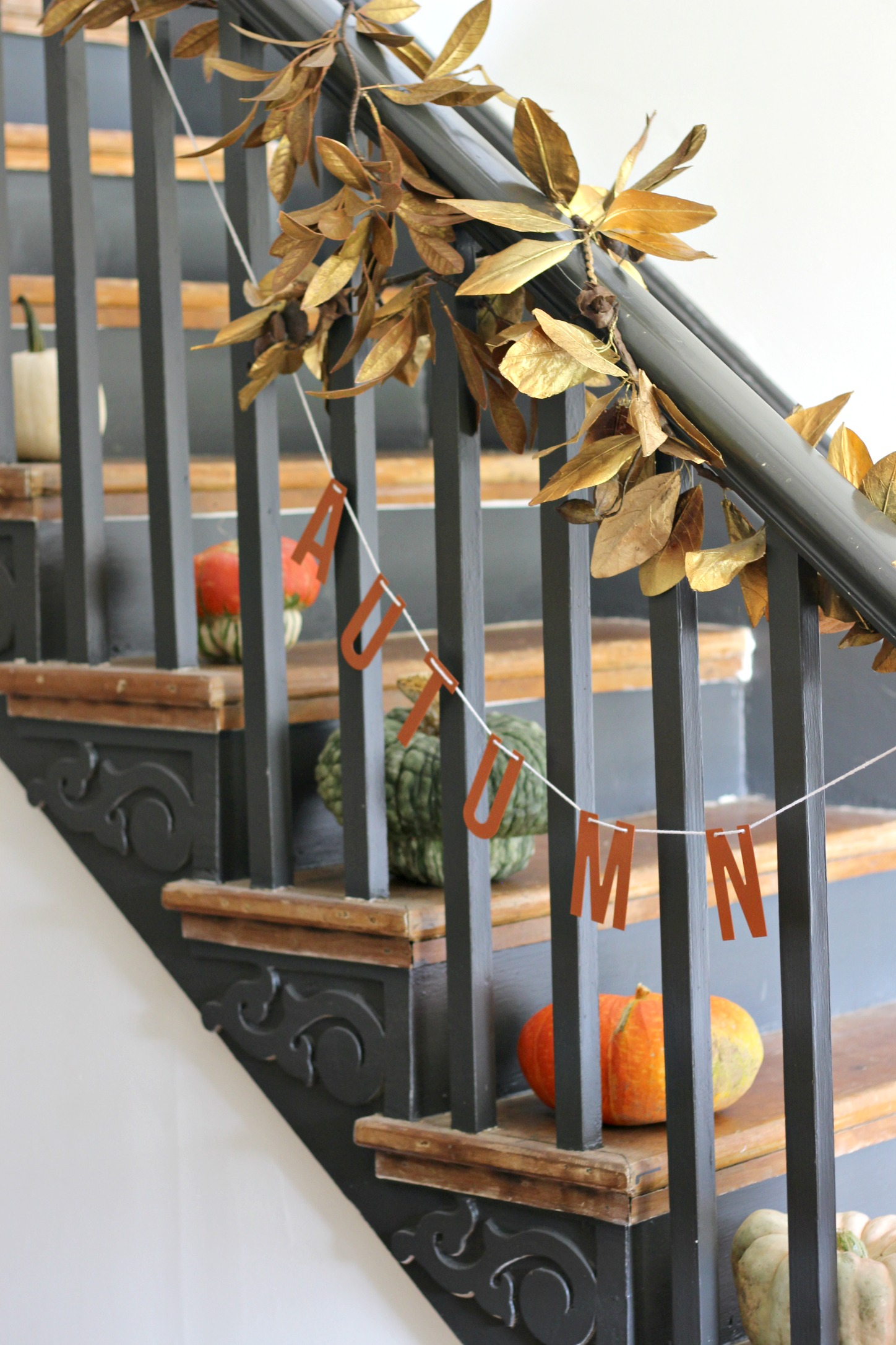 """Autumn"" garland:  Target Dollar Spot  (currently available in-stores)   