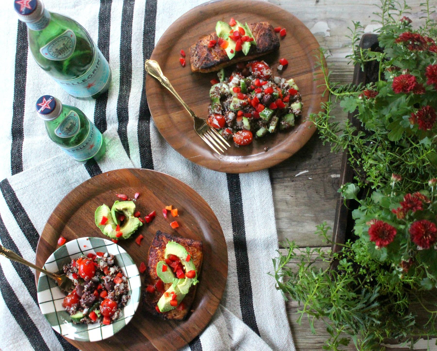 Kroger Prep + Pared Meal Kits Peruvian Salmon