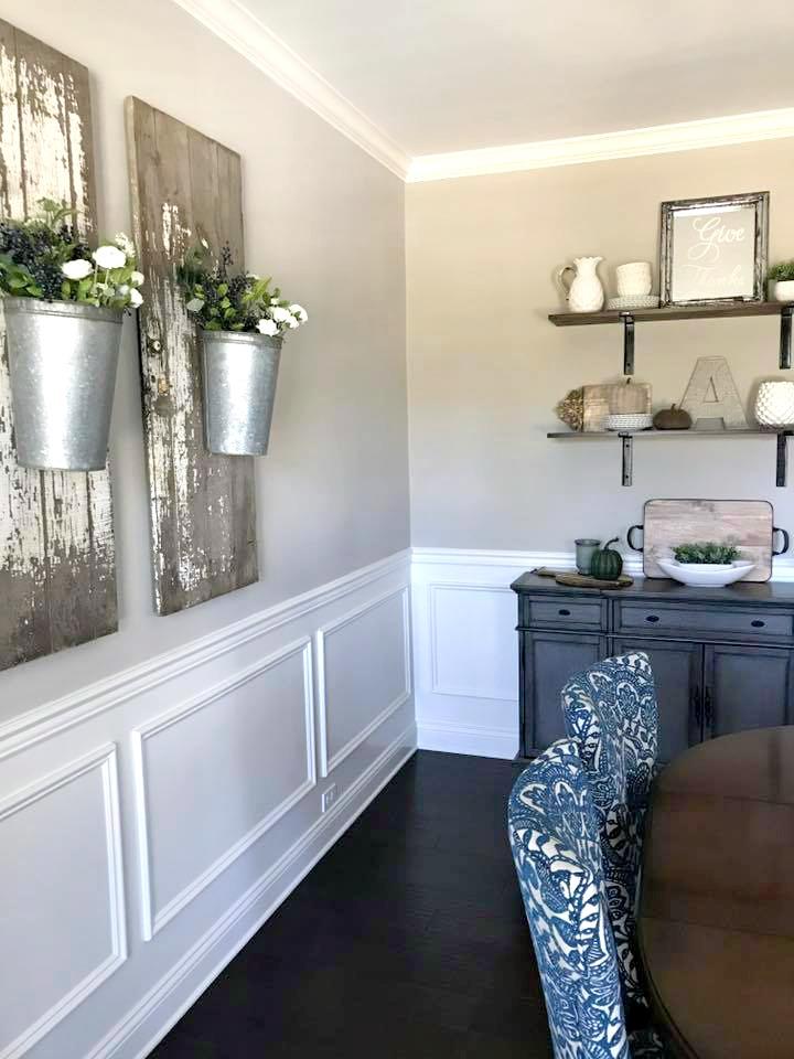 Elegant Farmhouse Dining Room Decorating Gathered Living